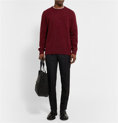 The Elder Statesman Boiled-Cashmere Sweater