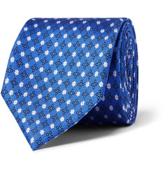 Emma Willis Printed Silk Tie