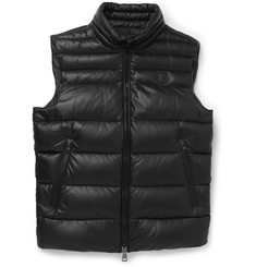 Moncler Dupres Quilted Leather Down Gilet
