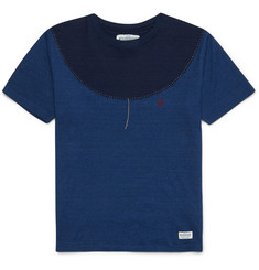 Neighborhood Two-Tone Cotton-Jersey T-Shirt