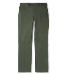 Several Arnold Slim-Fit Stretch-Cotton Trousers