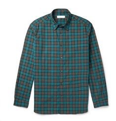 Several Dixon Slim-Fit Checked Cotton-Flannel Shirt