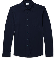 Sunspel Cotton-Piqué Shirt