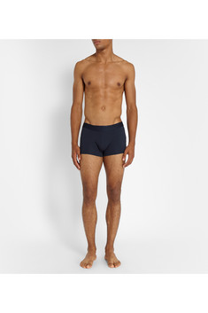 Sunspel Cotton-Blend Boxer Briefs