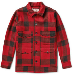 Filson Cruiser Checked Mackinaw Wool Jacket