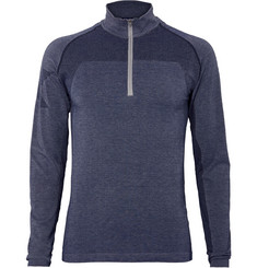 2XU Movement Engineered Stretch-Knit Base Layer Top