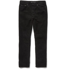 Michael Kors Slim-Fit Stretch Cotton-Corduroy Trousers