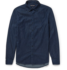Michael Kors Slim-Fit Denim Shirt