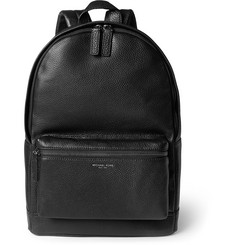 Michael Kors Pebble-Grain Leather Backpack