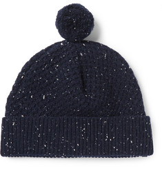 Oliver Spencer Textured Donegal Wool Hat
