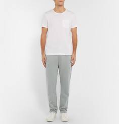 Oliver Spencer Loungewear Cotton and Cashmere-Blend Sweatpants