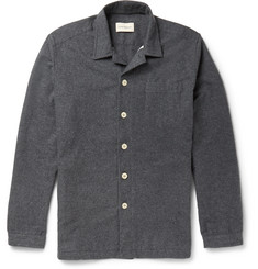 Oliver Spencer Loungewear - Cotton-Flannel Overshirt