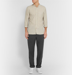 Oliver Spencer Loungewear Drawstring Cotton-Twill Trousers