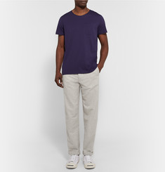 Oliver Spencer Loungewear Lux Cotton-Flannel Trousers