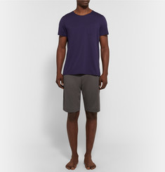 Oliver Spencer Loungewear Comfort Supima Cotton-Jersey Shorts
