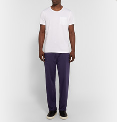 Oliver Spencer Loungewear Comfort Supima Cotton-Jersey Trousers