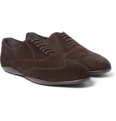 Harrys of London Grant Kudu Suede Oxford Shoes