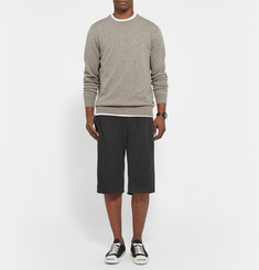 James Perse Loopback Supima Cotton-Jersey Shorts