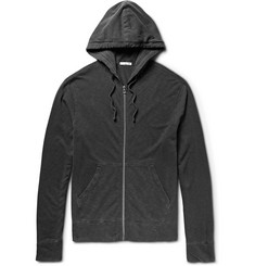 James Perse Loopback Supima Cotton-Jersey Hoodie