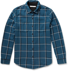 Outerknown Compass Checked Organic Cotton-Twill Shirt
