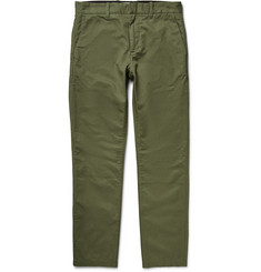 Outerknown Traveller Organic Cotton and Hemp-Blend Dobby Chinos