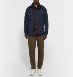Outerknown Compass Checked Cotton-Flannel Shirt