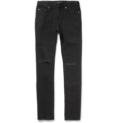 Saint Laurent - Slim-Fit 15.5cm Hem Denim Jeans