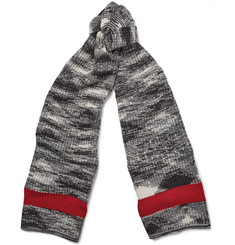 Missoni Mélange Knitted Wool Scarf