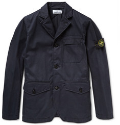 Stone Island Coated Cotton Jacket