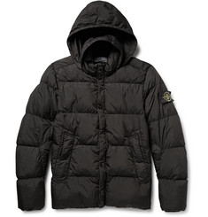 Stone Island Quilted Shell Down Coat