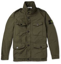 Stone Island Wind-Resistant Quilted Field Jacket