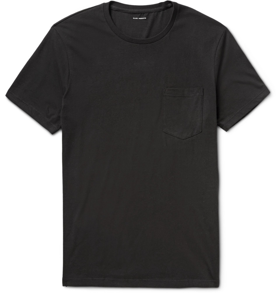 Williams Cotton-jersey T-shirt - Black
