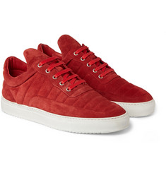 Filling Pieces The Low Fuse Suede Sneakers