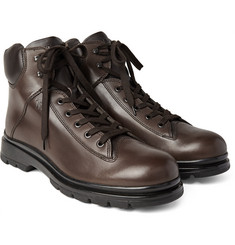 Tod's Commando-Sole Leather Boots