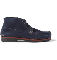 Quoddy Washed-Leather Chukka Boots