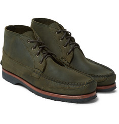 Quoddy - Washed-Leather Chukka Boots