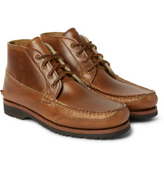Quoddy Telos Cavalier Leather Chukka Boots