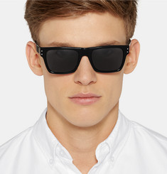 Our Legacy Faith Square-Frame Acetate Sunglasses