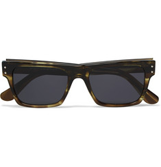 Our Legacy Faith Square-Frame Tortoiseshell Acetate Sunglasses