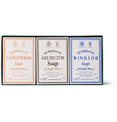 D R Harris Trio-Pack Scented Soaps
