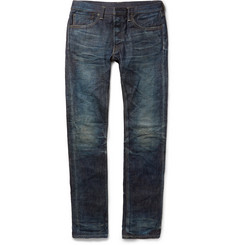 Fabric-Brand & Co Doran Slim-Fit Japanese Selvedge Denim Jeans