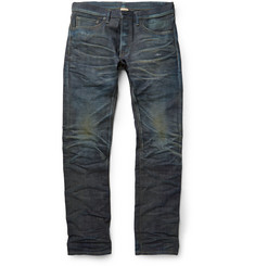 Fabric-Brand & Co Jericho Slim-Fit Japanese Selvedge Denim Jeans