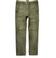 Fabric-Brand & Co Slim-Fit Tiberias Cotton Chinos