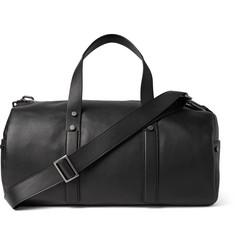 Calvin Klein Collection Grained-Leather Duffel Bag