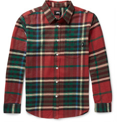 Stüssy Plaid Cotton-Flannel Shirt