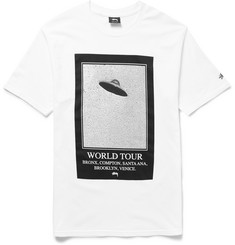 Stüssy Unidentified World Tour Slim-Fit Cotton-Jersey T-shirt