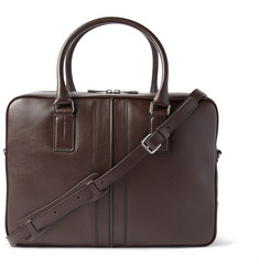 Tod's Grained-Leather Briefcase