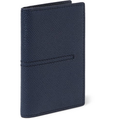 Tod's Cross-Grain Leather Billfold Cardholder