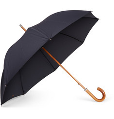 London Undercover - City Lux Malacca Wood-Handle Umbrella