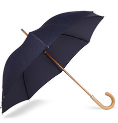 London Undercover City Fleck Malacca Wood-Handle Umbrella